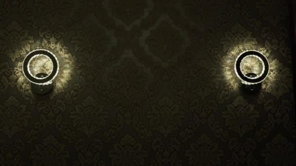 Lampy na zeď v pokoji
