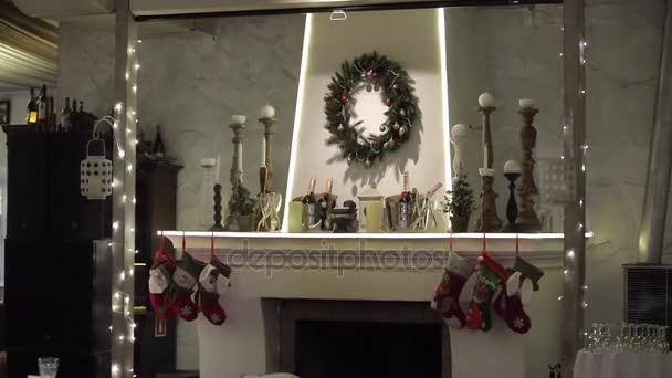 Krb s Vánoční dekorace