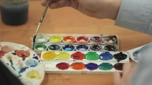 Tanuló, rajz és festés
