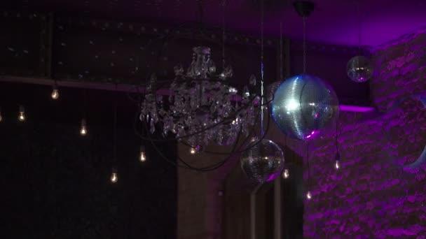Disco labdát, és a fény
