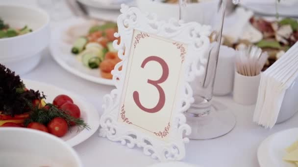 Table number three