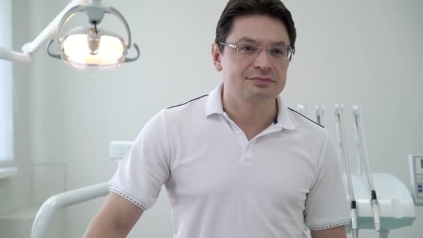 Dentist doctor in dental clinic