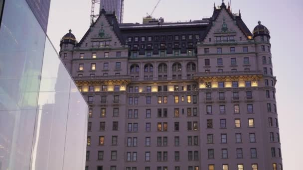 New York, USA - 1. října 2019: Plaza hotel na Manhattanu