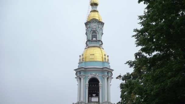 Katedrála námořnictva Nikolského v Petrohradě.