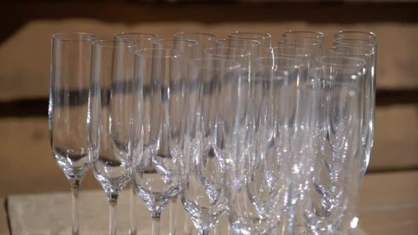 Champagne in glasses and bottle at the party. Alcohol drinks and beverage