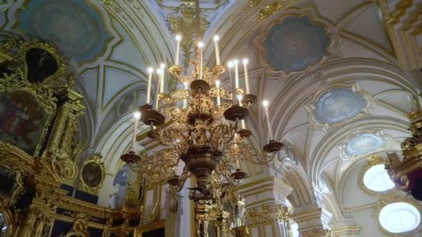 saint-petersburg, russland - 7. februar 2020: nikolsky marinekathedrale in saint-petersburg