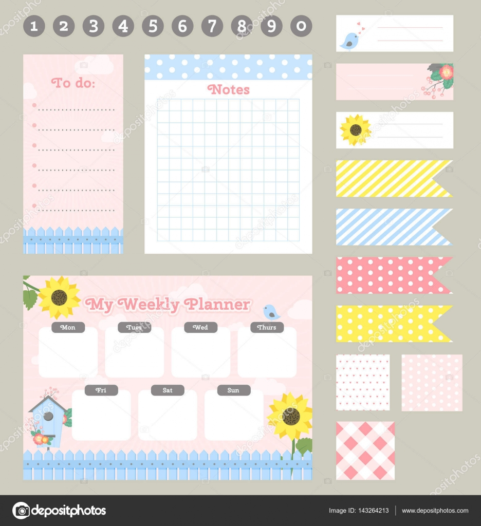 2019 personal planner