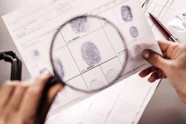Criminology expert working