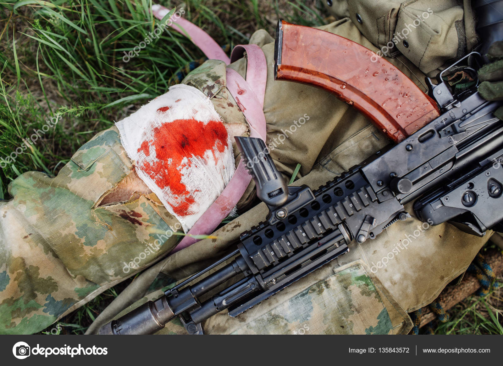 wounded soldiers pictures