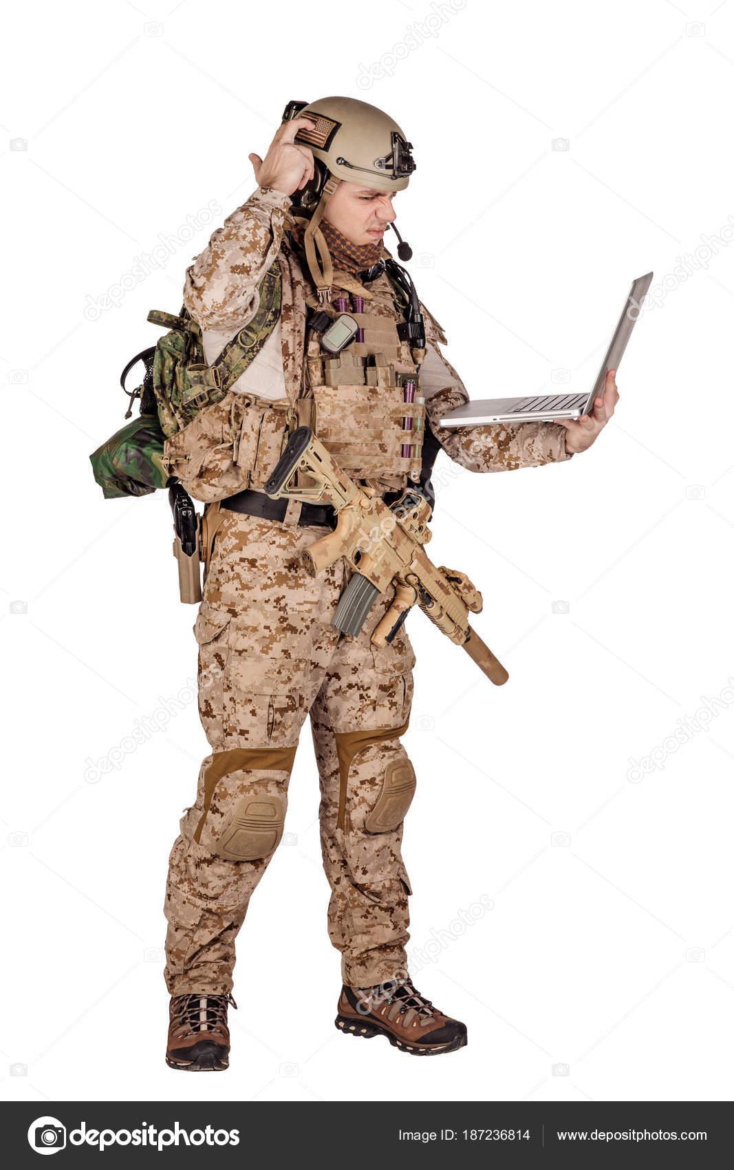 podłączenie żołnierza