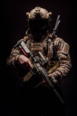 Special forces United States soldier or private military contrac