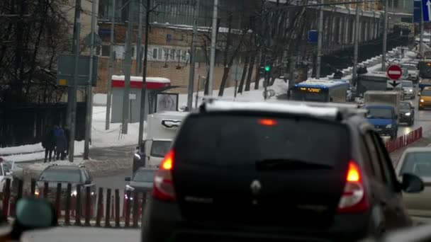 the Movement of Cars on the Streets of Moscow