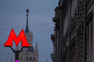 The symbol M-metro