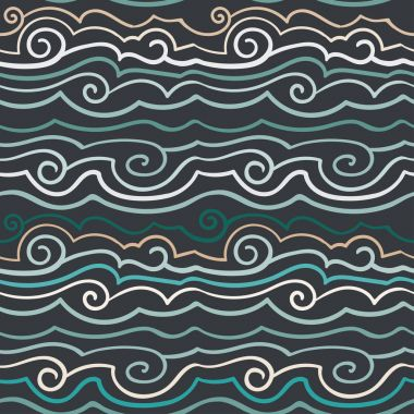 simple  pattern of waves