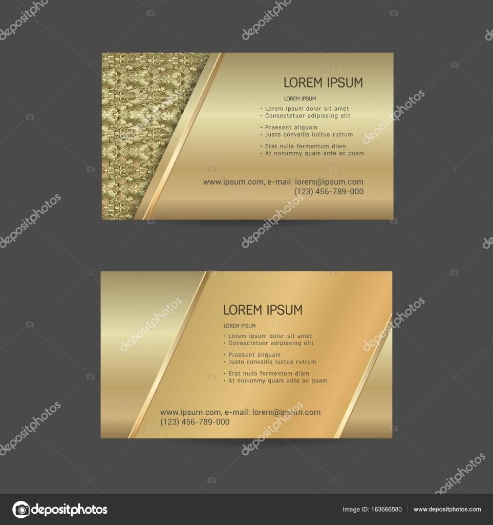 plantillas de tarjetas de visita — Archivo Imágenes Vectoriales ...