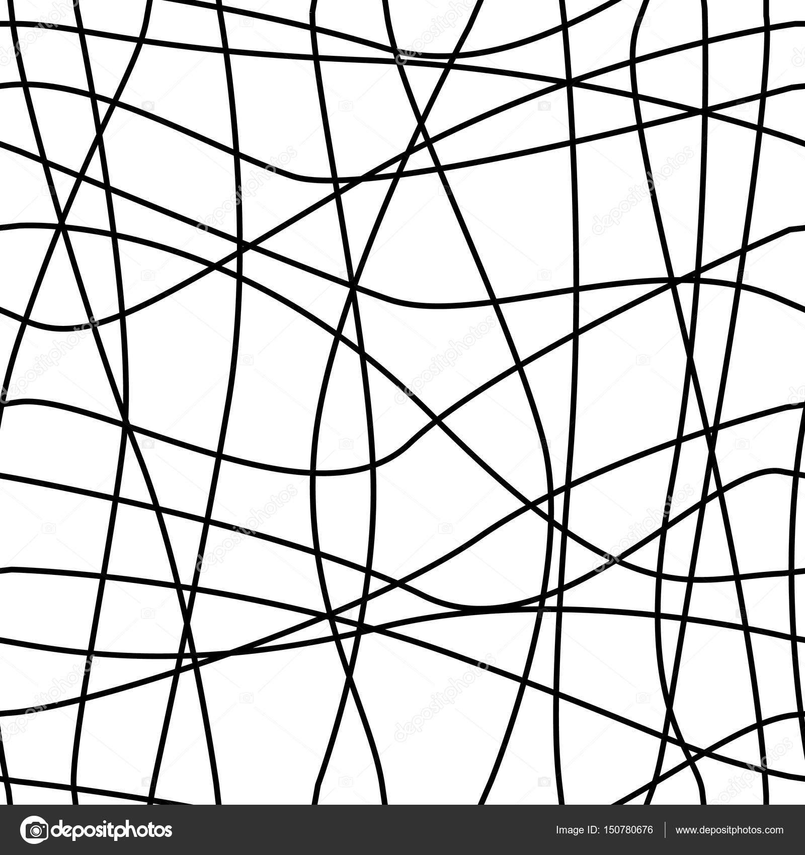 Geometrique Simple Motif Minimaliste Noir Et Blanc Triangles Ou