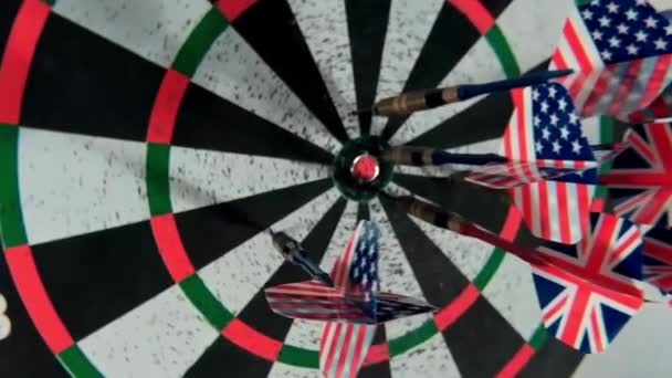 Target with darts