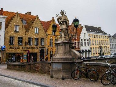 Cityscape at Brugge in Belgium