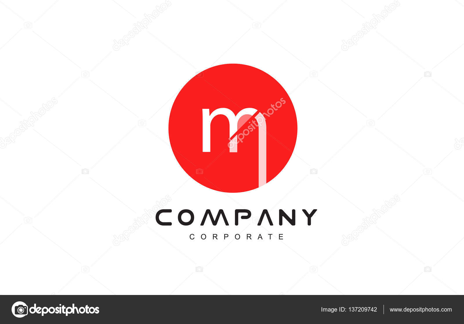Alphabet letter m logo icon design stock vector dragomirescu alphabet letter circle red m small vector logo icon sign design template vector by dragomirescu thecheapjerseys Images