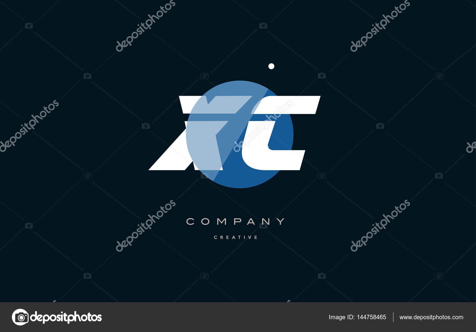 Xc x c blue white circle big font alphabet company letter logo xc x c blue white circle big font alphabet company letter logo stock vector spiritdancerdesigns Gallery