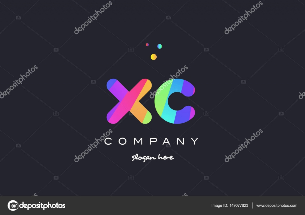 Xc x c colored rainbow creative colors alphabet letter logo ico xc x c creative rainbow green orange blue purple magenta pink artistic alphabet company letter logo design vector icon template vector by dragomirescu spiritdancerdesigns Gallery