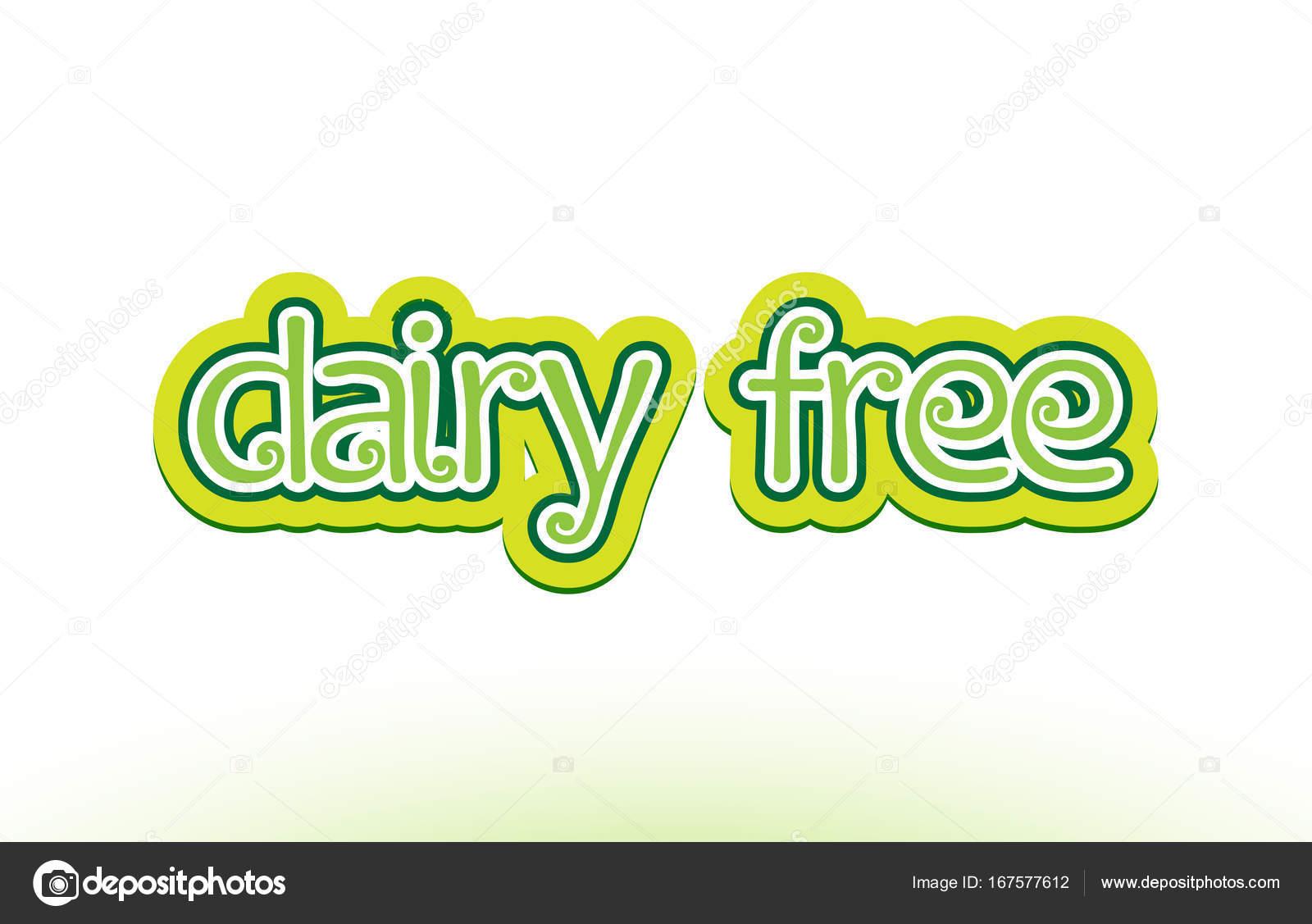 Molkerei freies Wort Text Logo Symbol Typografie-design ...