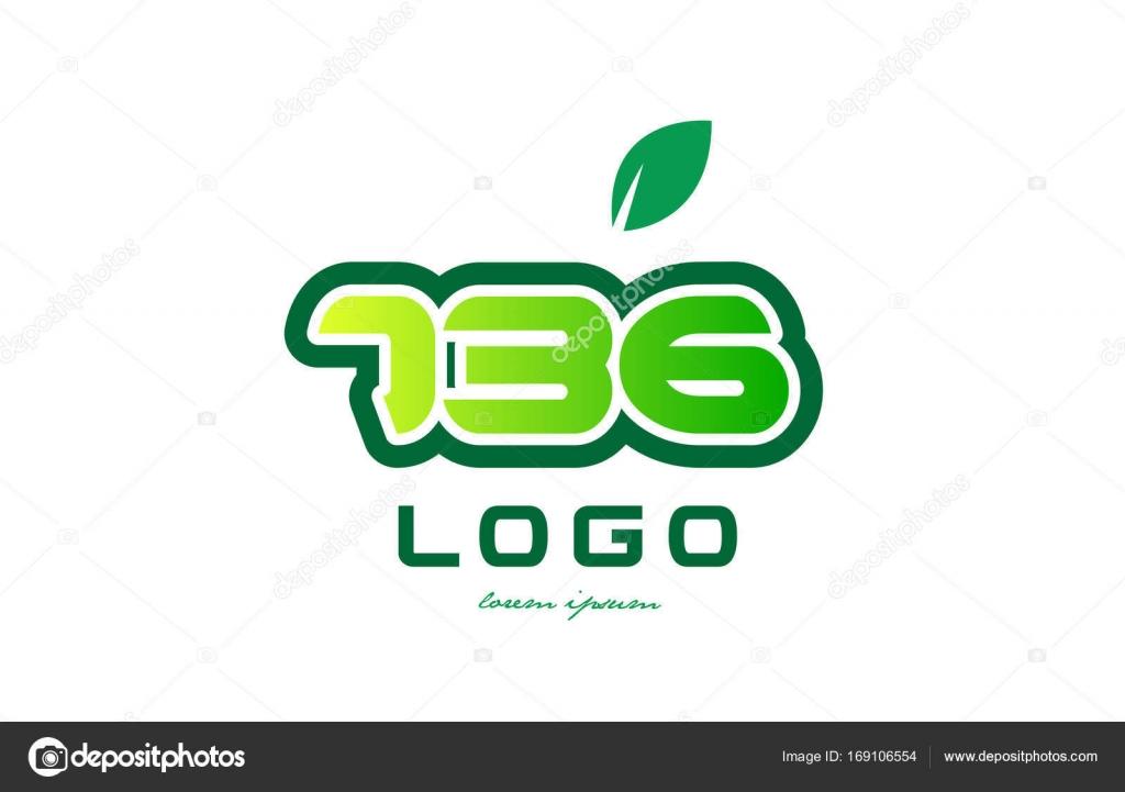 Diseño icono dígito numérico número 736 — Archivo Imágenes ...