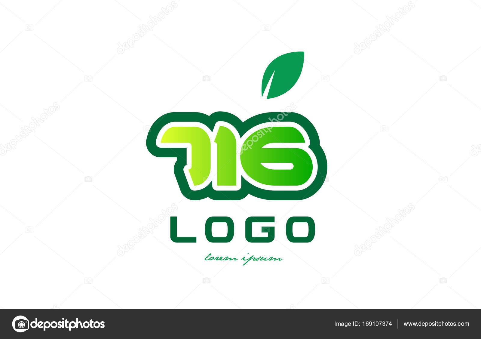 Diseño icono dígito numérico número 716 — Vector de stock ...