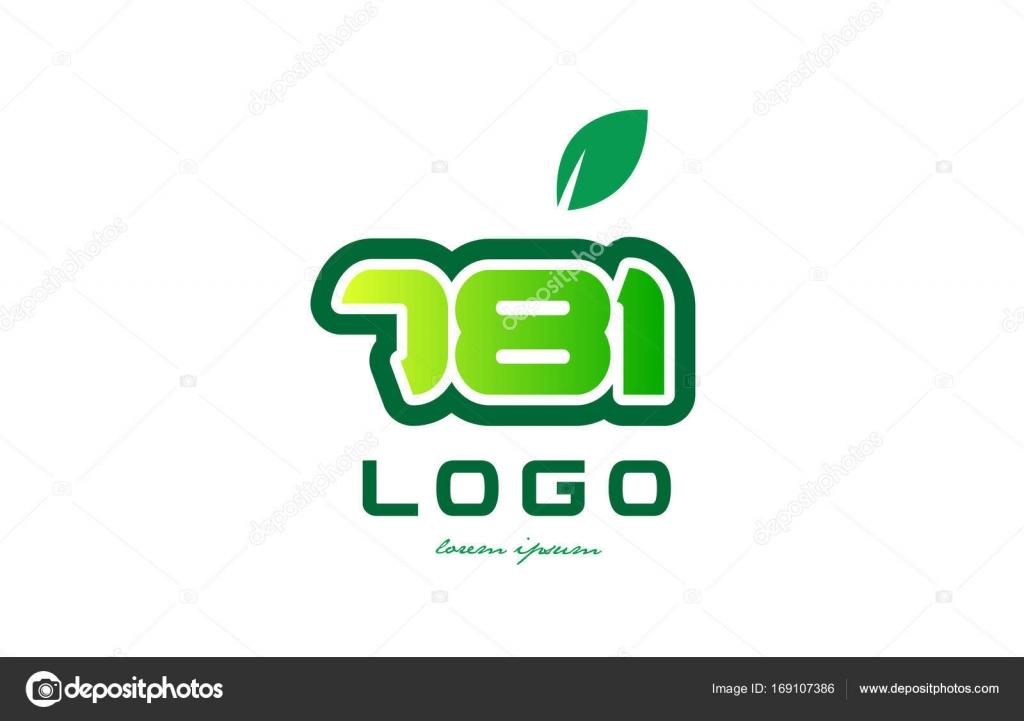 Diseño icono dígito numérico número 781 — Archivo Imágenes ...