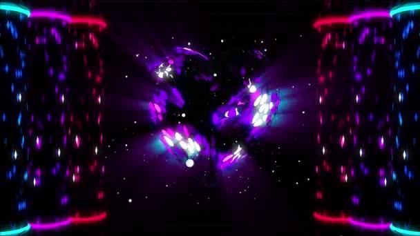 3D srdce zářící v prostoru