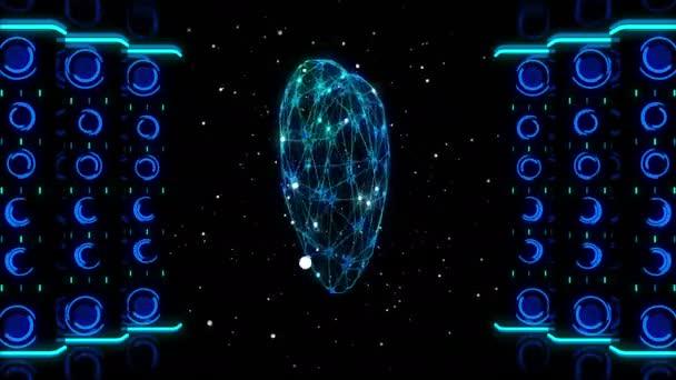 3D srdce otočení v prostoru