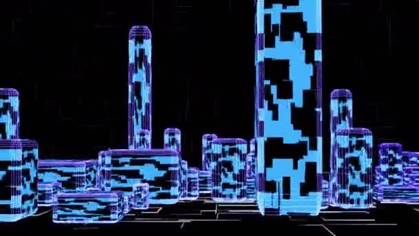 3D budovy roste