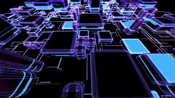 3D City Buildings growing