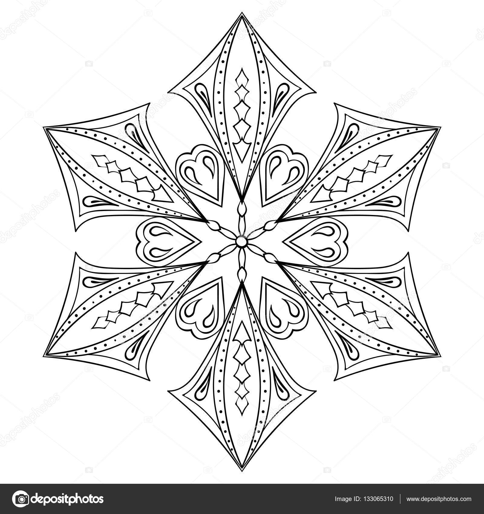 Christmas Tree Zentangle Coloring Page by Pamela Kennedy | TpT | 1700x1600