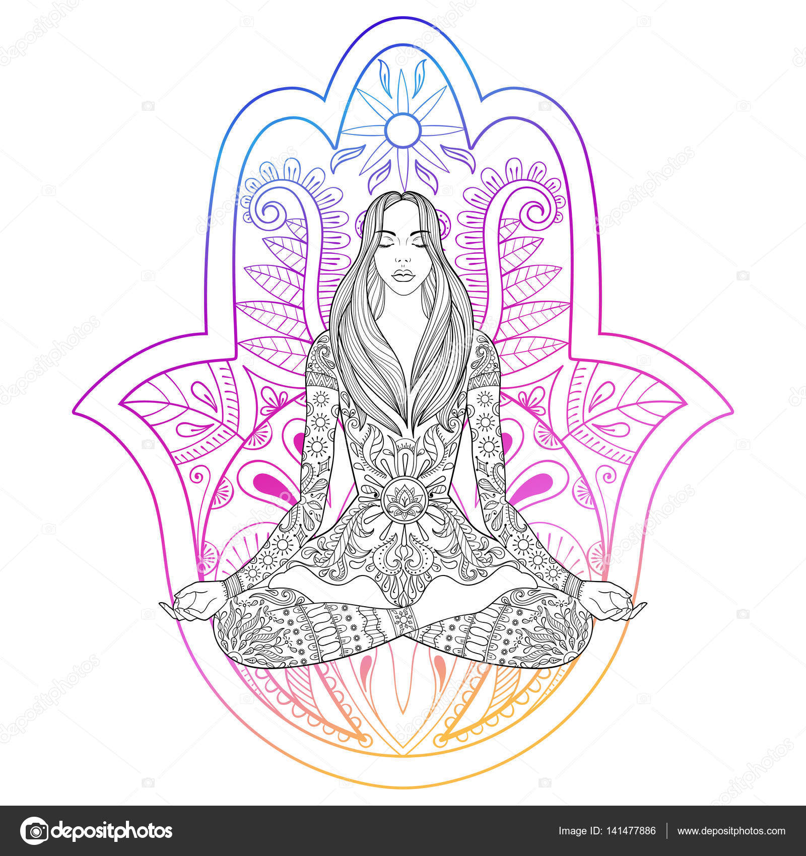 Woman Silhouette Colouring Pages - Women Model Silhouette Png ... | 1024x963