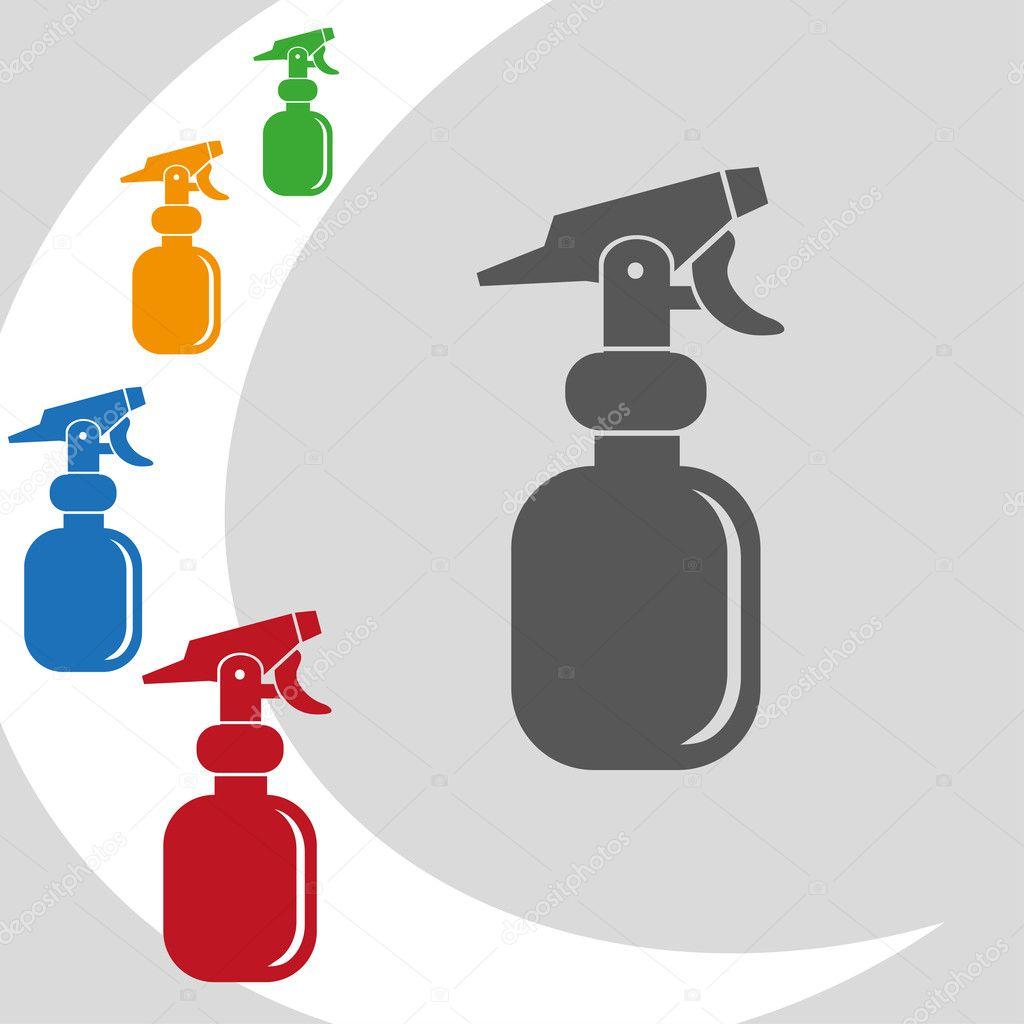 design of spray logo