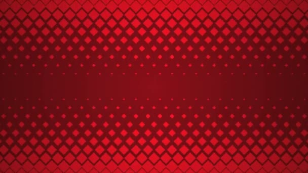 Red Repeating Square Pattern Design Background.