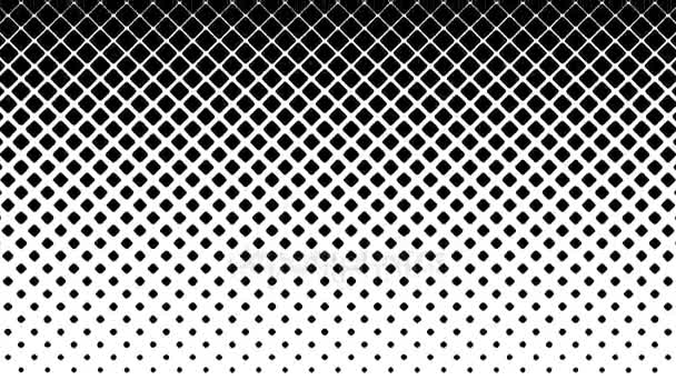 Black Squares Pattern on White Background.