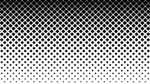 Vzorek černé čtverečky na bílém pozadí