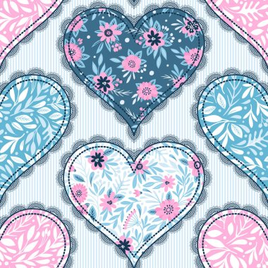 St. Valentine's cakes - Stock Image