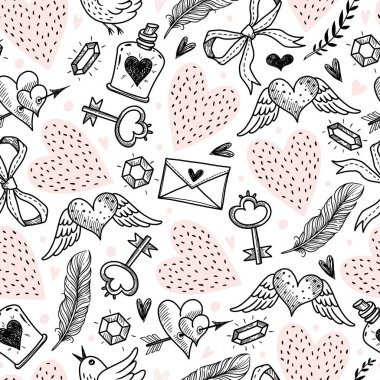 pattern with decorative elements