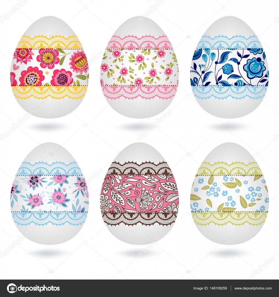 Seth con huevos de Pascua — Archivo Imágenes Vectoriales © xenia_ok ...