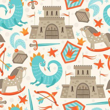 Seamless prince pattern