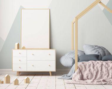 room in Scandinavian style