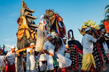 Ceremonial procession, Bali, Indonesia