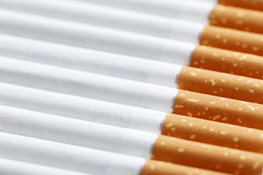 Tobacco cigarettes background
