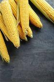 Sweet corns on table