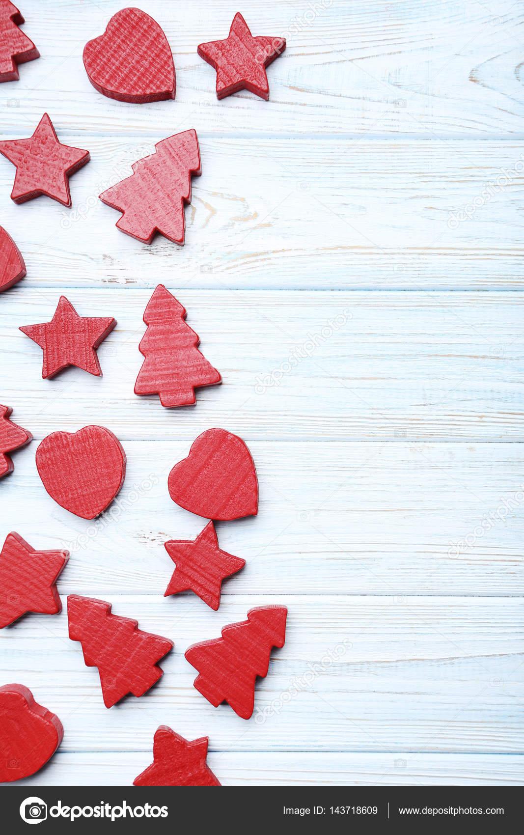 Decoración De árboles De Navidad Estrellas Y Corazones Fotos De