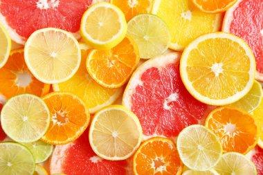Sweet citrus fruits