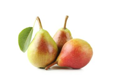 three sweet ripe pears